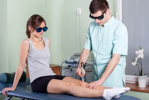 Healing and Pain Management Benefits from Cold Laser Therapy