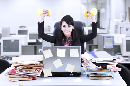 Daily Exercises for Office Workers