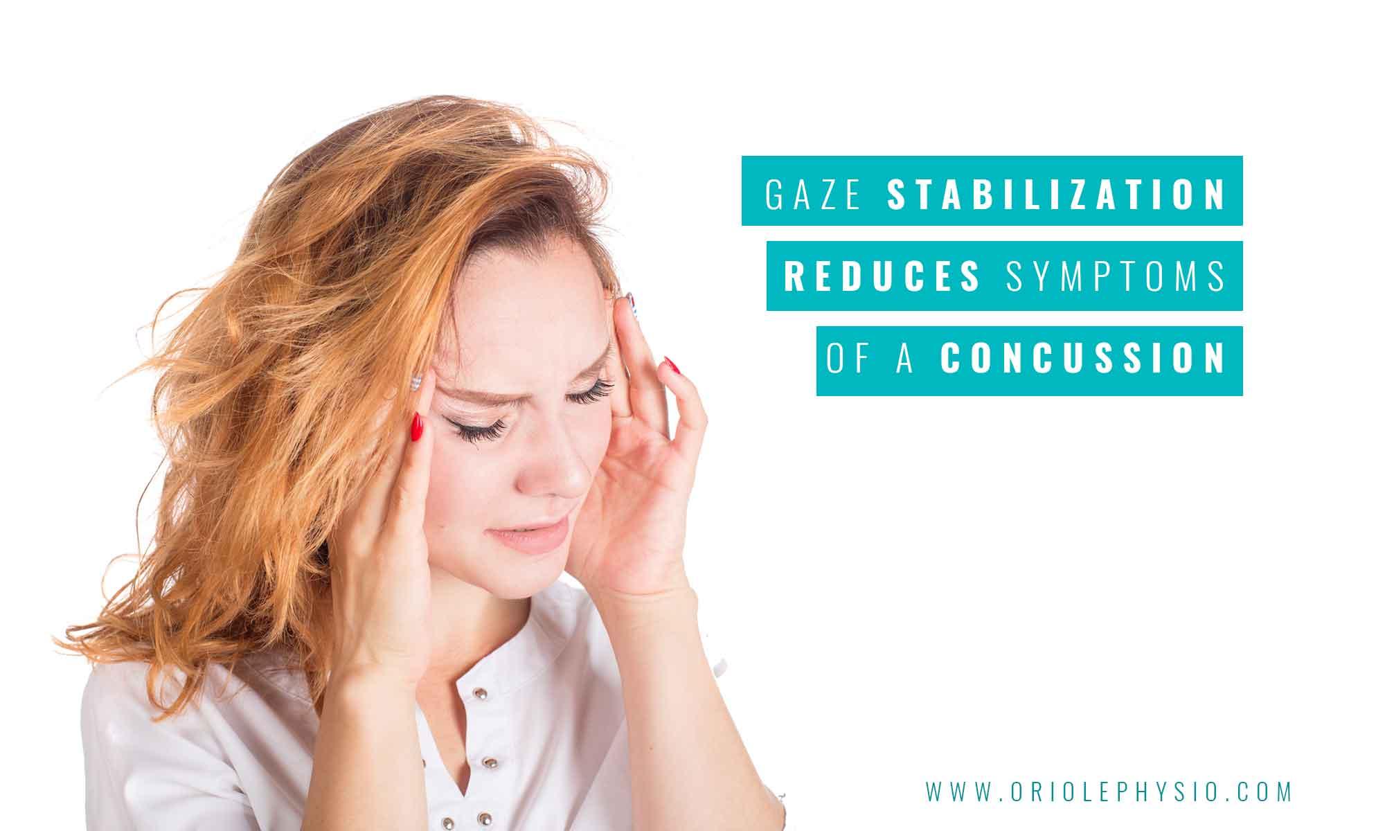 gaze stabilization