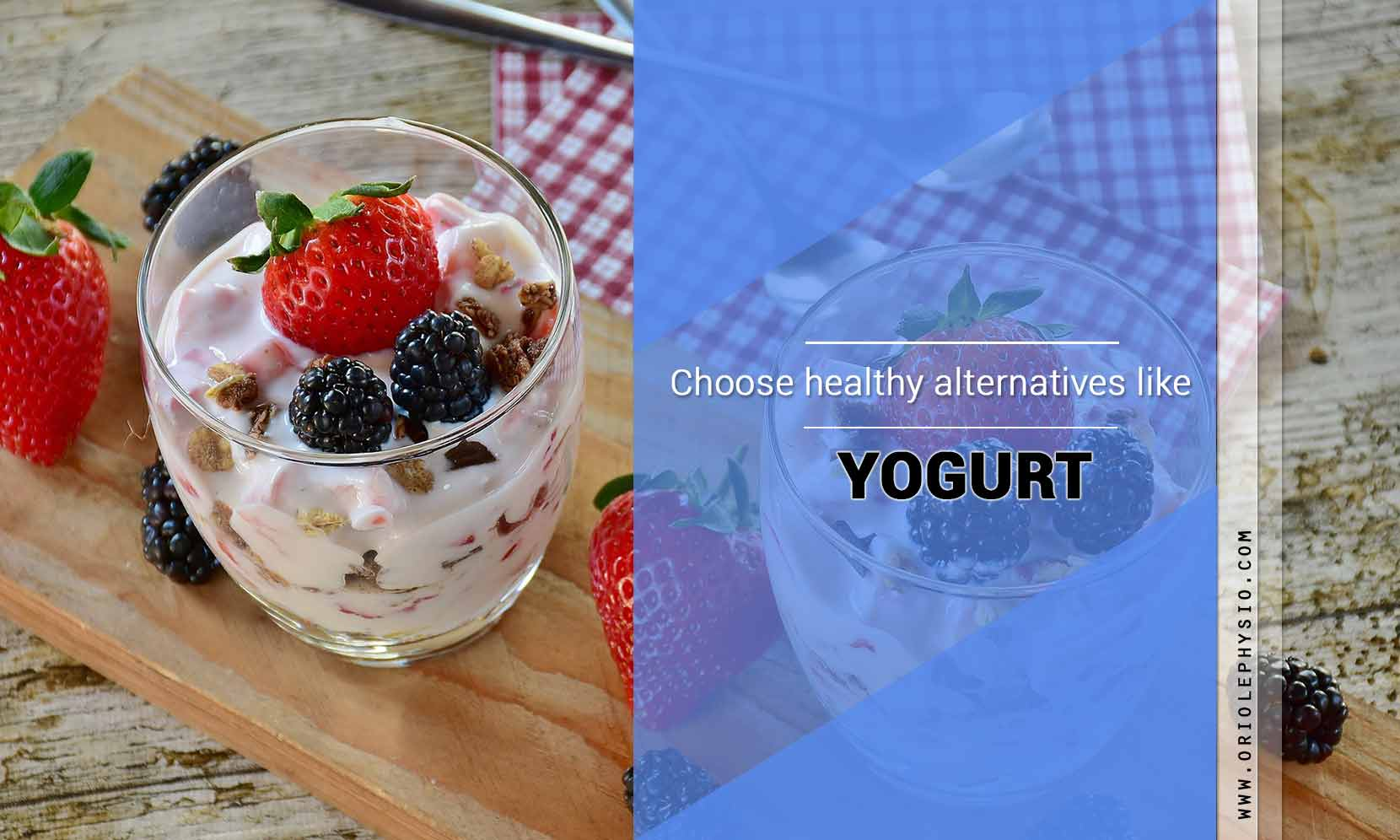 choose yogurt as alternative