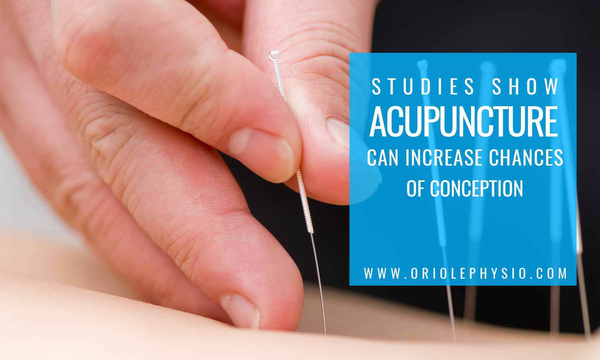 study shows acupuncture