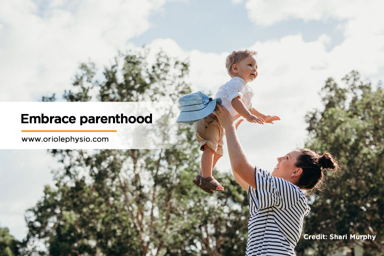 Embrace-parenthood