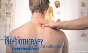The goal of physiotherapy is to gradually increase your mobility.