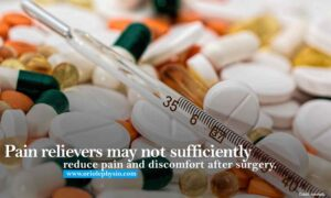 Pain relievers may not sufficiently reduce pain and discomfort after surgery.