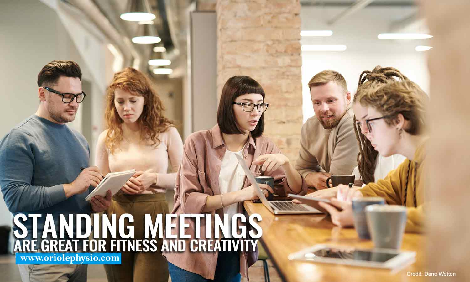Standing meetings are great for fitness and creativity