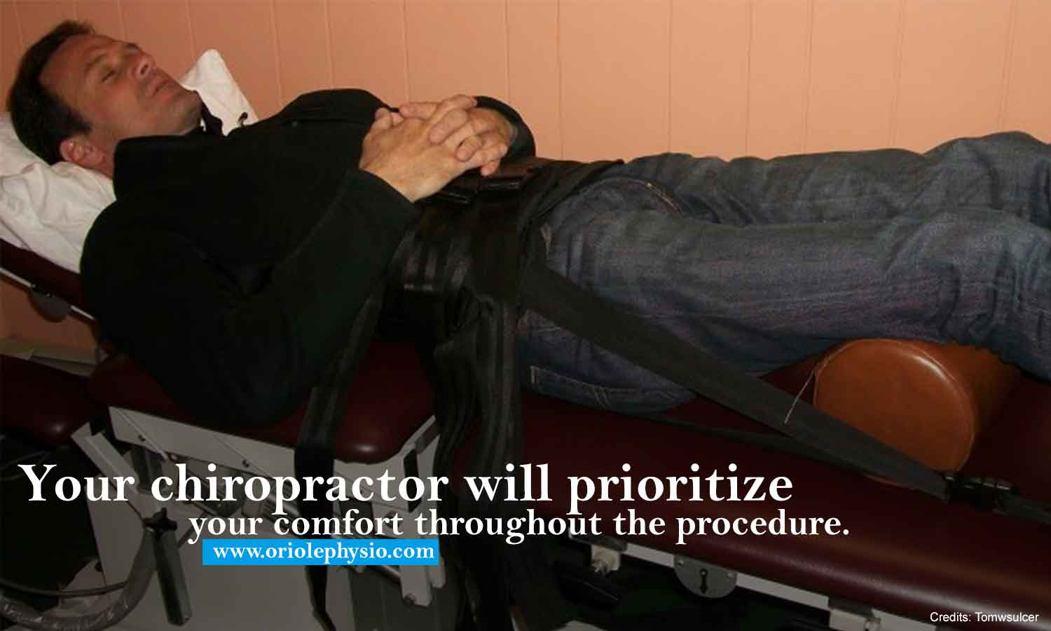 Your chiropractor will prioritize your comfort throughout the procedure.