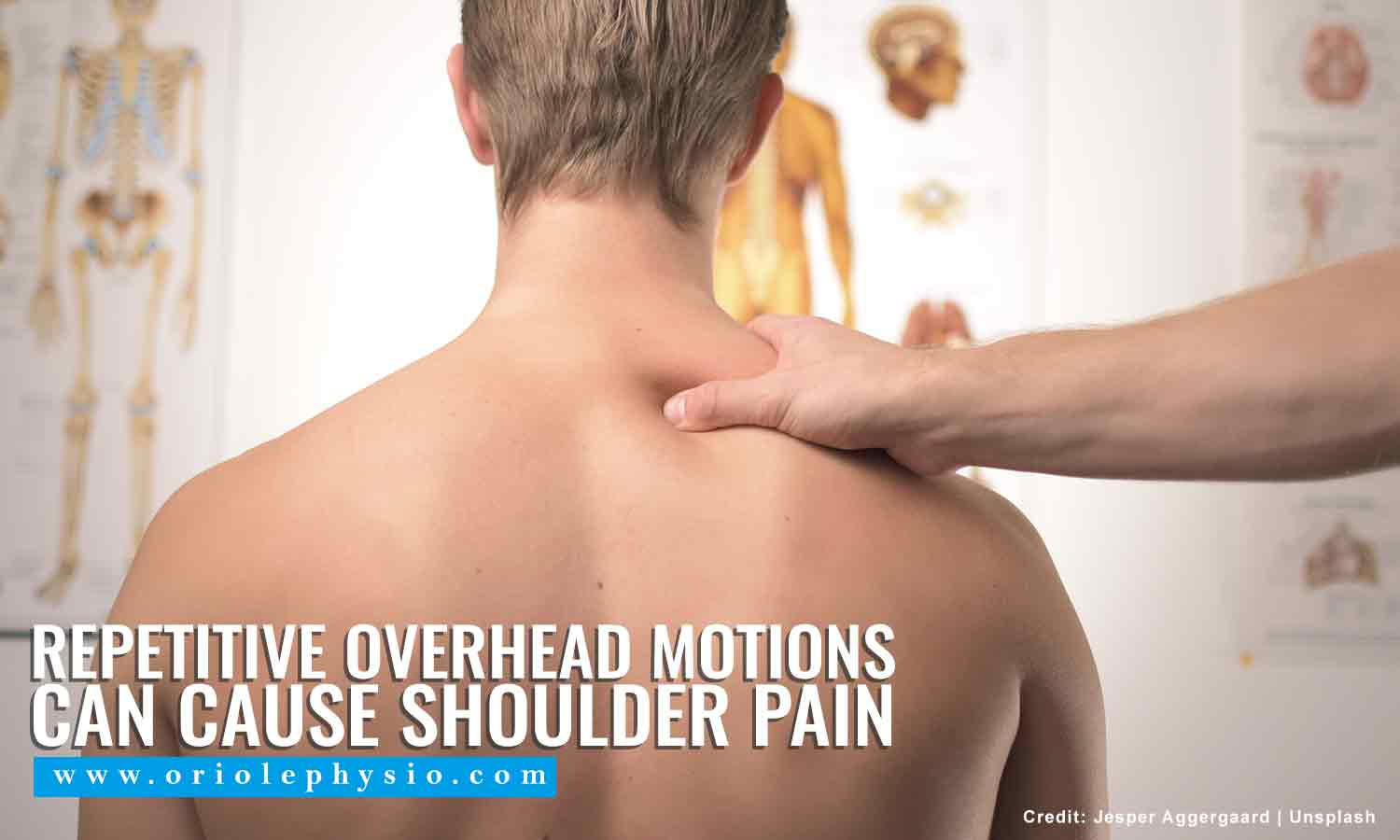 Repetitive overhead motions can cause shoulder pain
