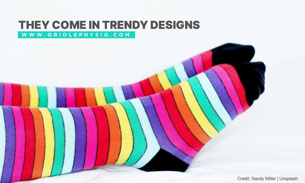 They come in trendy designs