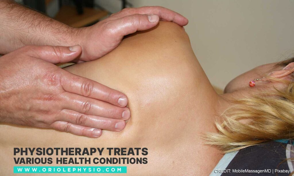 Physiotherapy treats various health conditions
