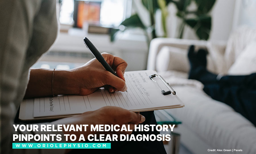 Your relevant medical history pinpoints to a clear diagnosis