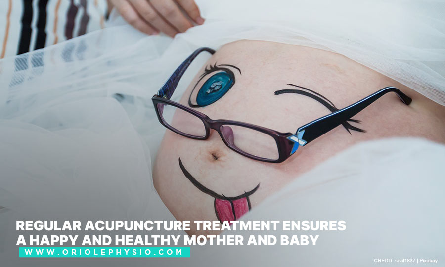 Regular acupuncture treatment ensures a happy and healthy mother and baby