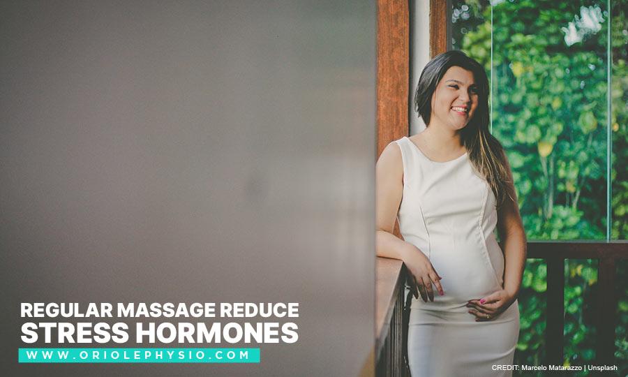 Regular massage reduce stress hormones