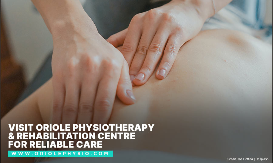 [CAPTION]: Visit Oriole Physiotherapy & Rehabilitation Centre for reliable care