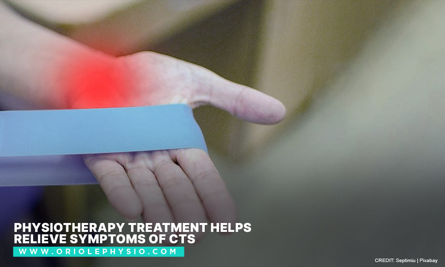 Physiotherapy treatment helps relieve symptoms of CTS